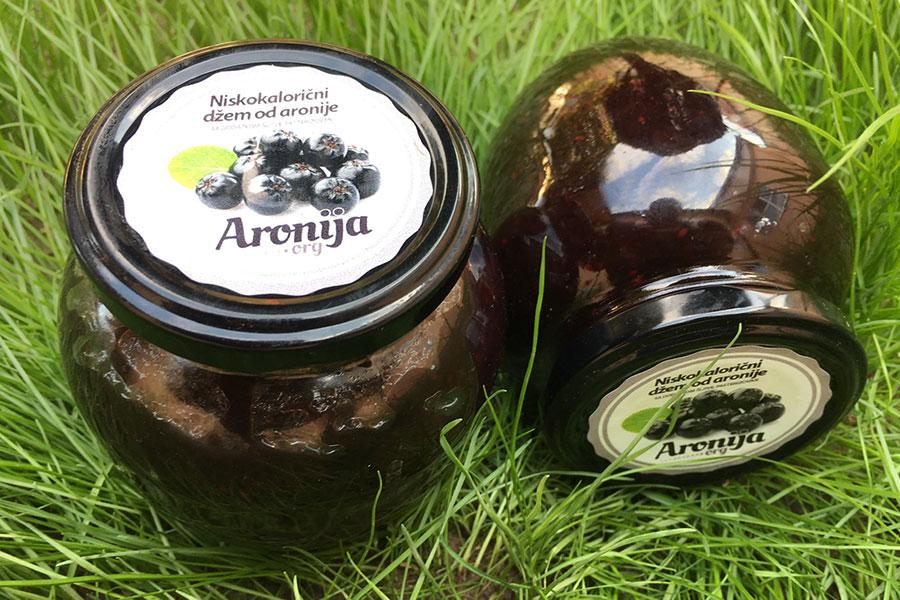 Džem od aronije sa dodatkom šljive