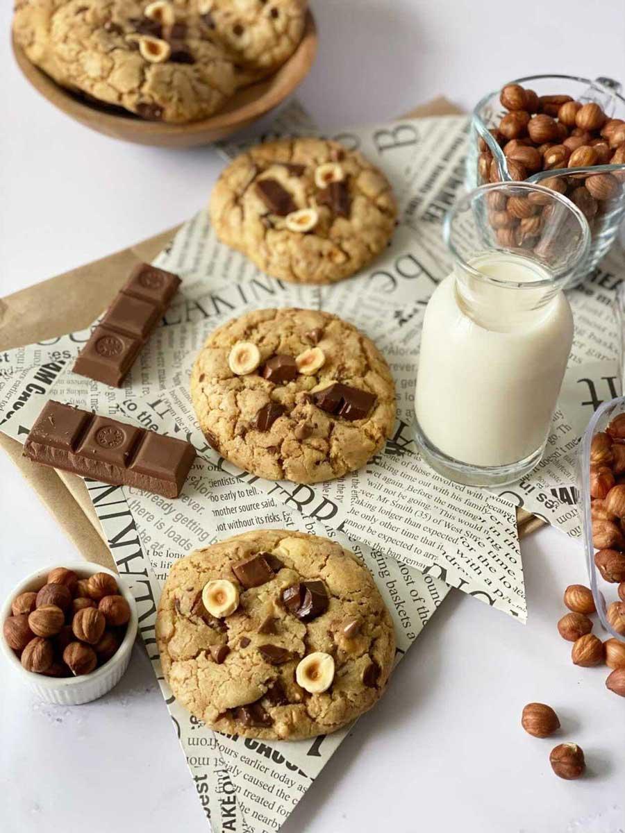Cookies Sa čokoladom I Lešnicima